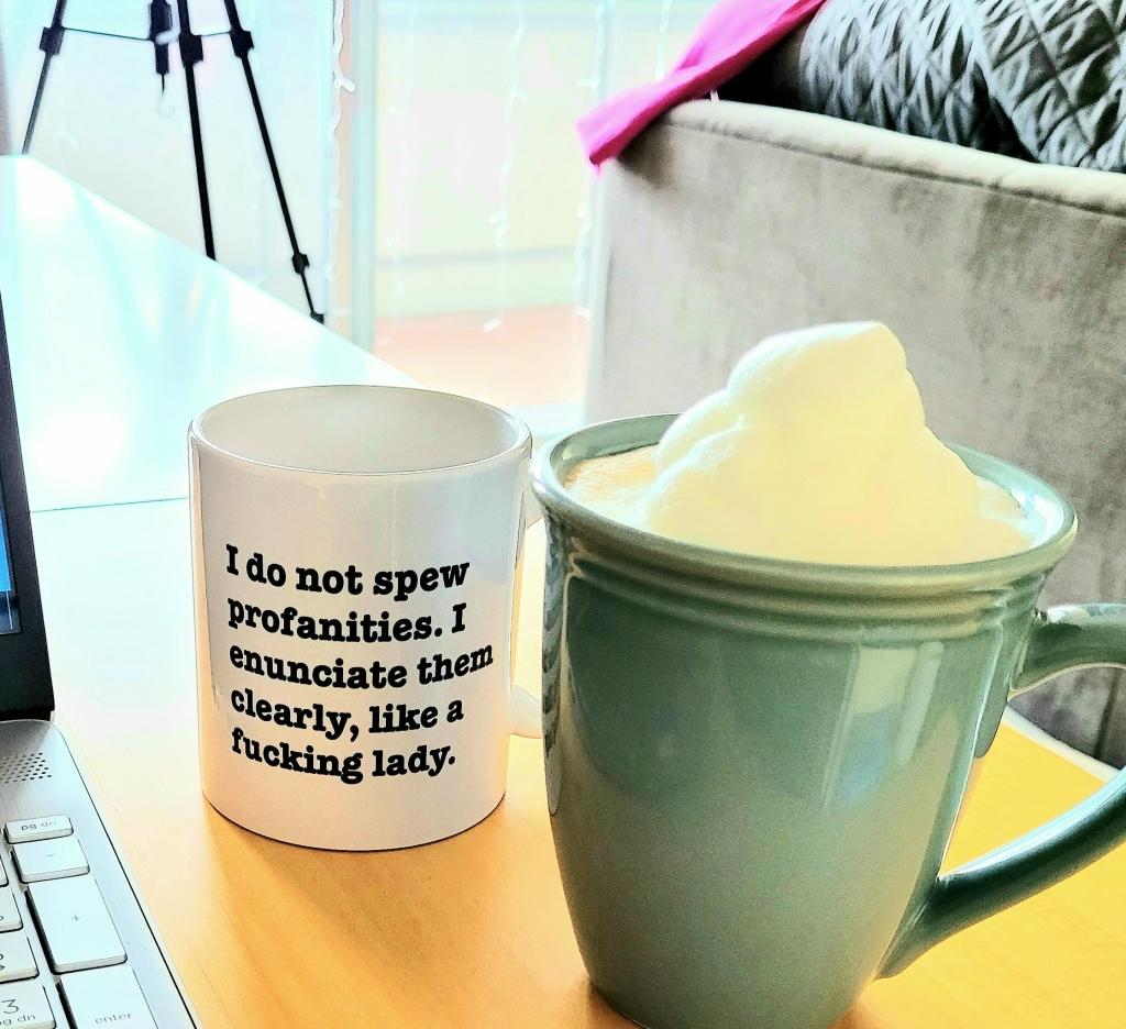 The mug of a genius