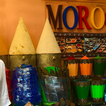 Solo female traveler in Morocco